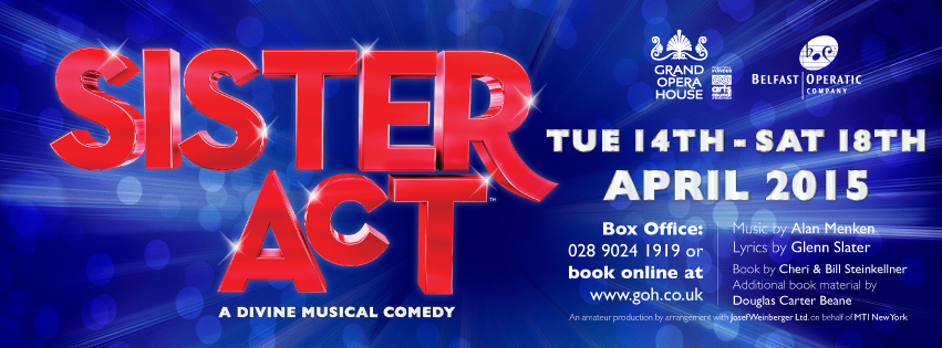 Sister Act Banner