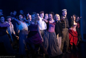 "Sinead Coll in ""Jekyll and Hyde"" with the Blue Fish Theatrical company."